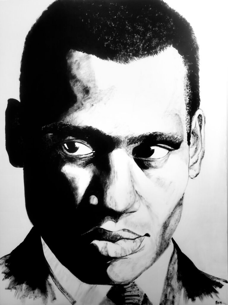 """Paul Robeson 30""""x40"""""""